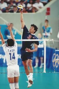 Mike Lambert '00 Olympics USA vs S.Korea
