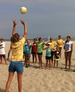 beach camp coach missy demo